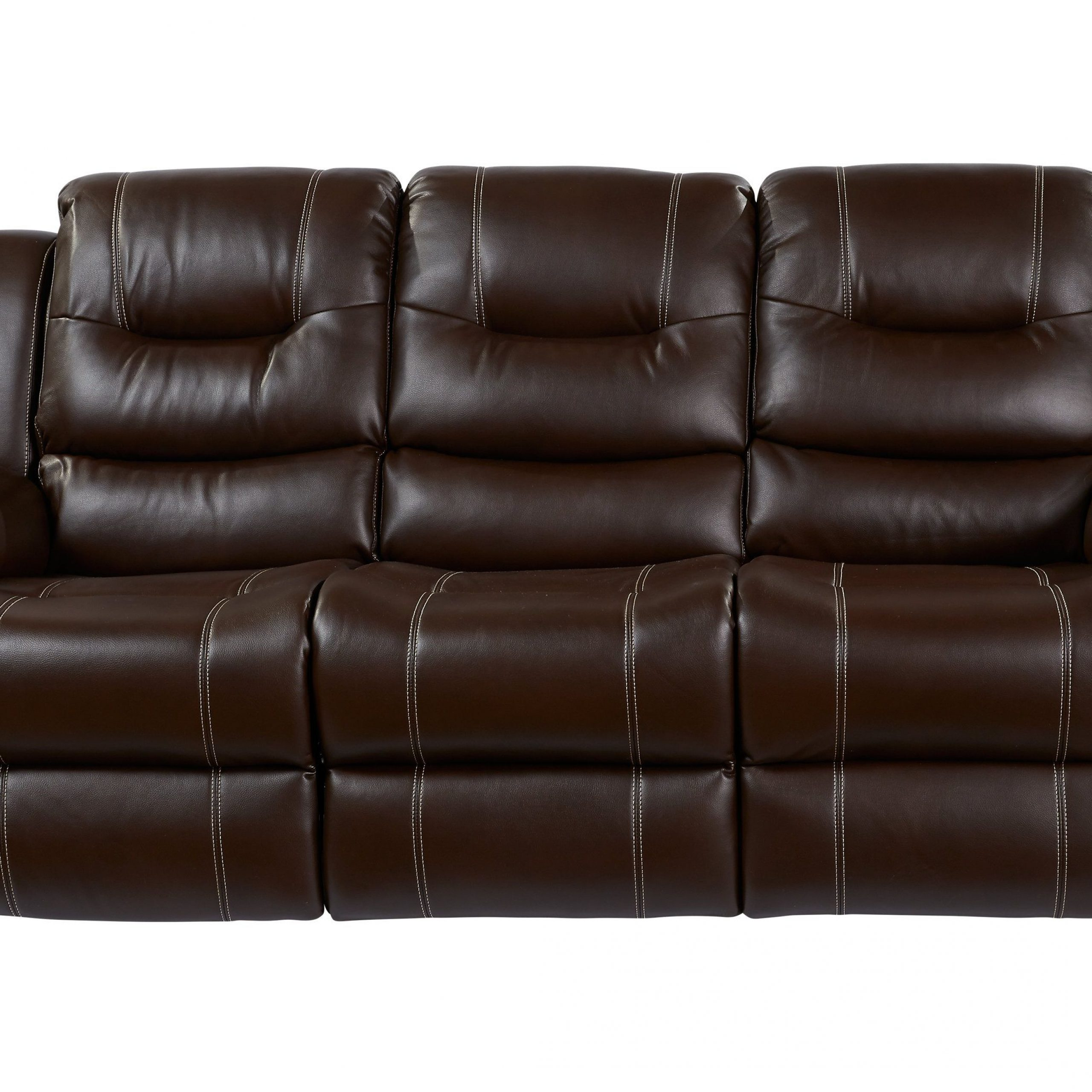 Brown Leather Sofa Living Room, Reclining Sofa, Affordable Inside Well Known Marco Leather Power Reclining Sofas (View 7 of 20)