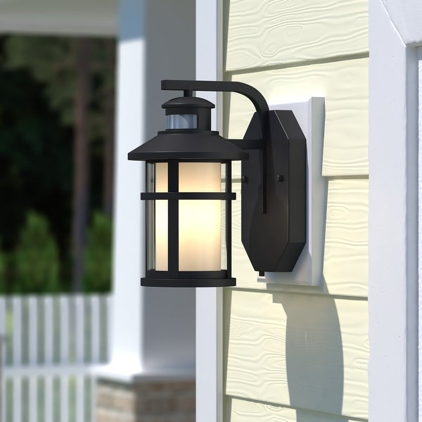 Cadiz Bronze Motion Sensor Dusk To Dawn Outdoor Wall Light With Regard To Most Recently Released Ranbir Oil Burnished Bronze Outdoor Wall Lanterns With Dusk To Dawn (View 17 of 20)