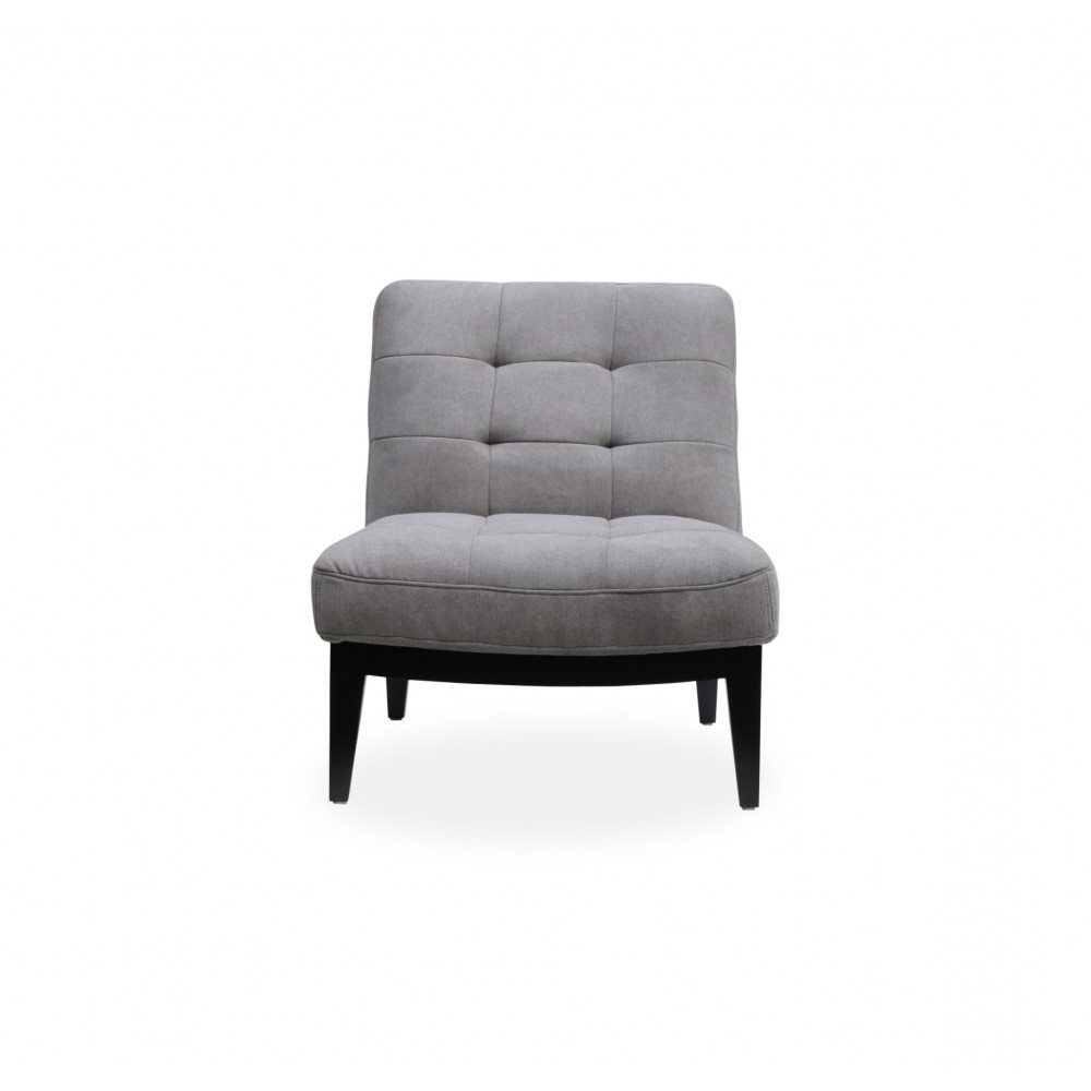 Canyon Lounge Chair Light Grey Fabric Throughout Famous Antonio Light Gray Leather Sofas (View 7 of 20)