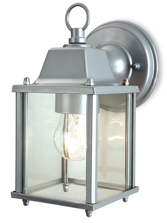 Carner Outdoor Wall Lanterns Pertaining To Recent Firstlight Coach Outdoor Suspended Wall Lantern (silver (View 17 of 20)