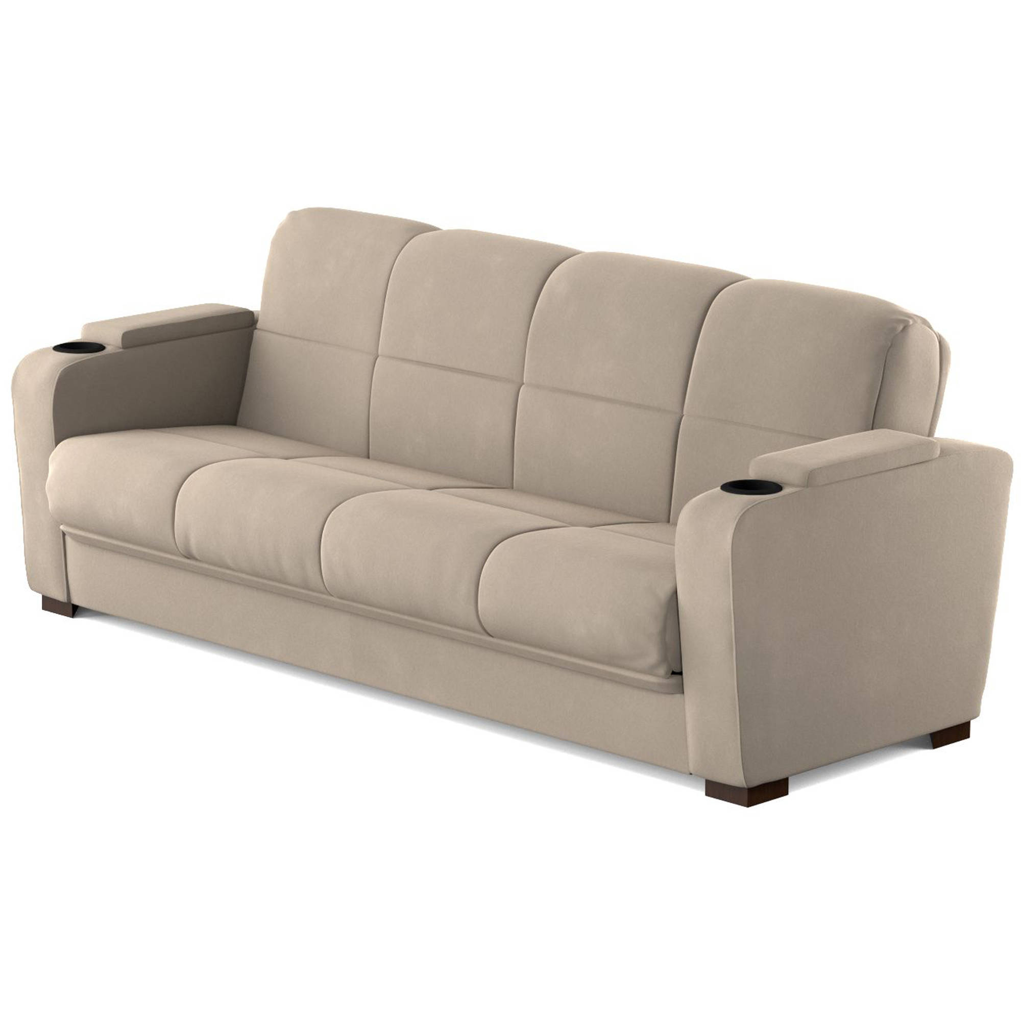 Celine Sectional Futon Sofas With Storage Reclining Couch Regarding Well Liked Mainstays Tyler Futon With Storage Sofa Sleeper Bed (View 5 of 20)