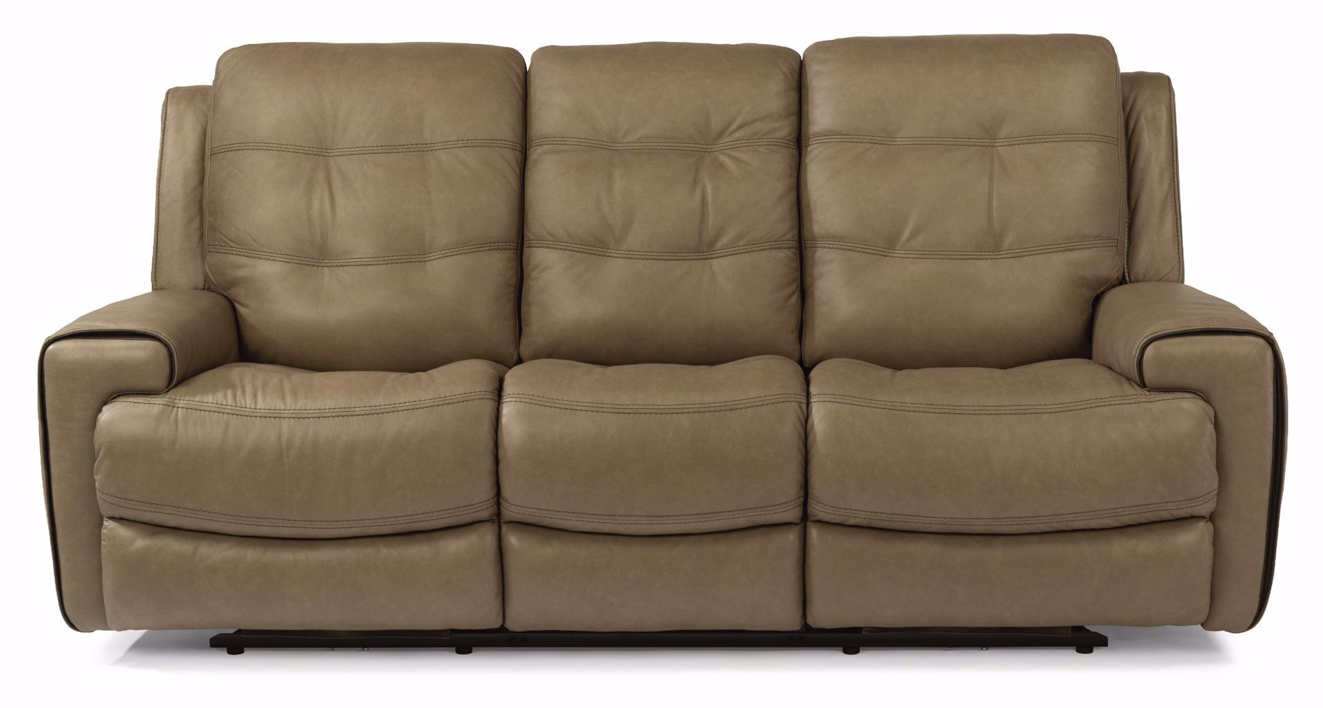 Charleston Power Reclining Sofas For Fashionable Wicklow Power Reclining Leather Sofa With Power Headrest (View 16 of 20)