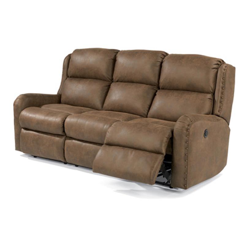 Charleston Power Reclining Sofas In Favorite Flexsteel 4892 62m Cameron Fabric Power Reclining Sofa (View 7 of 20)