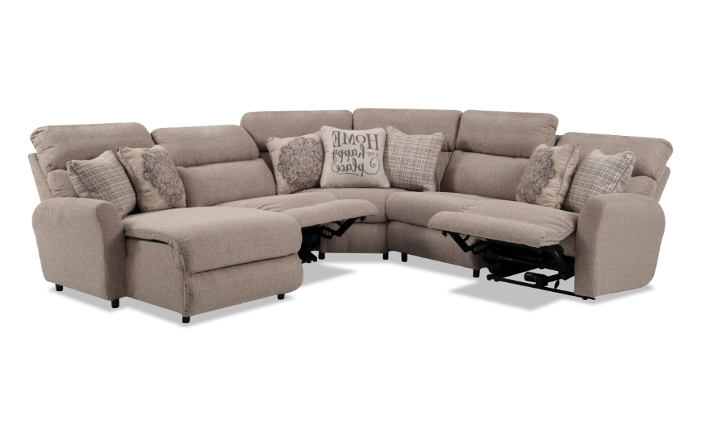 Charleston Power Reclining Sofas With Current Charleston 5 Piece Left Arm Facing Power Reclining (View 5 of 20)