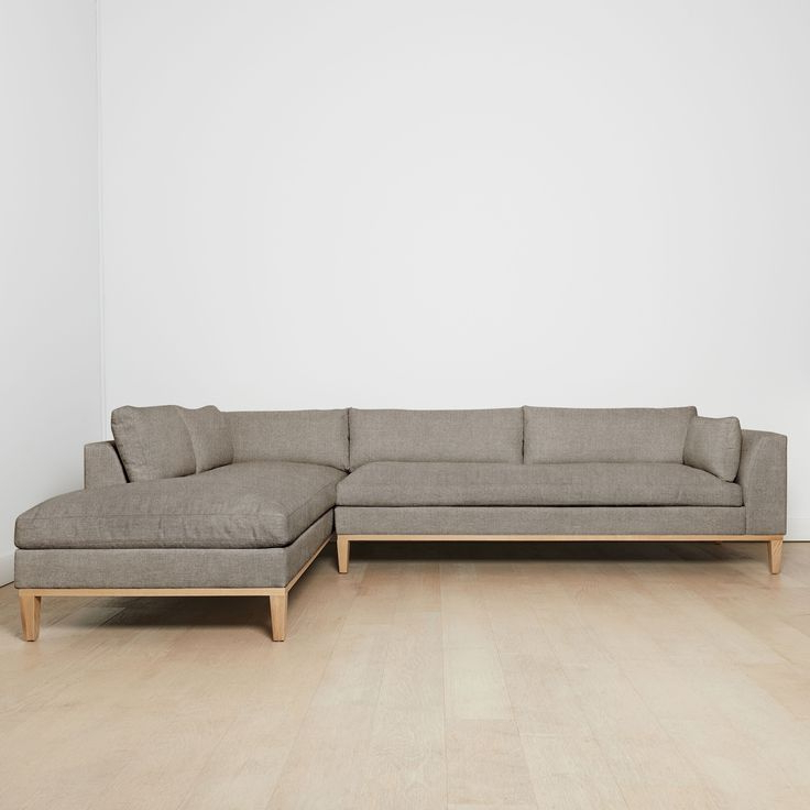 """Charleston Sofas For Most Recently Released Charleston Right Facing Sectional Sofa, Flannel 127""""l (View 11 of 20)"""