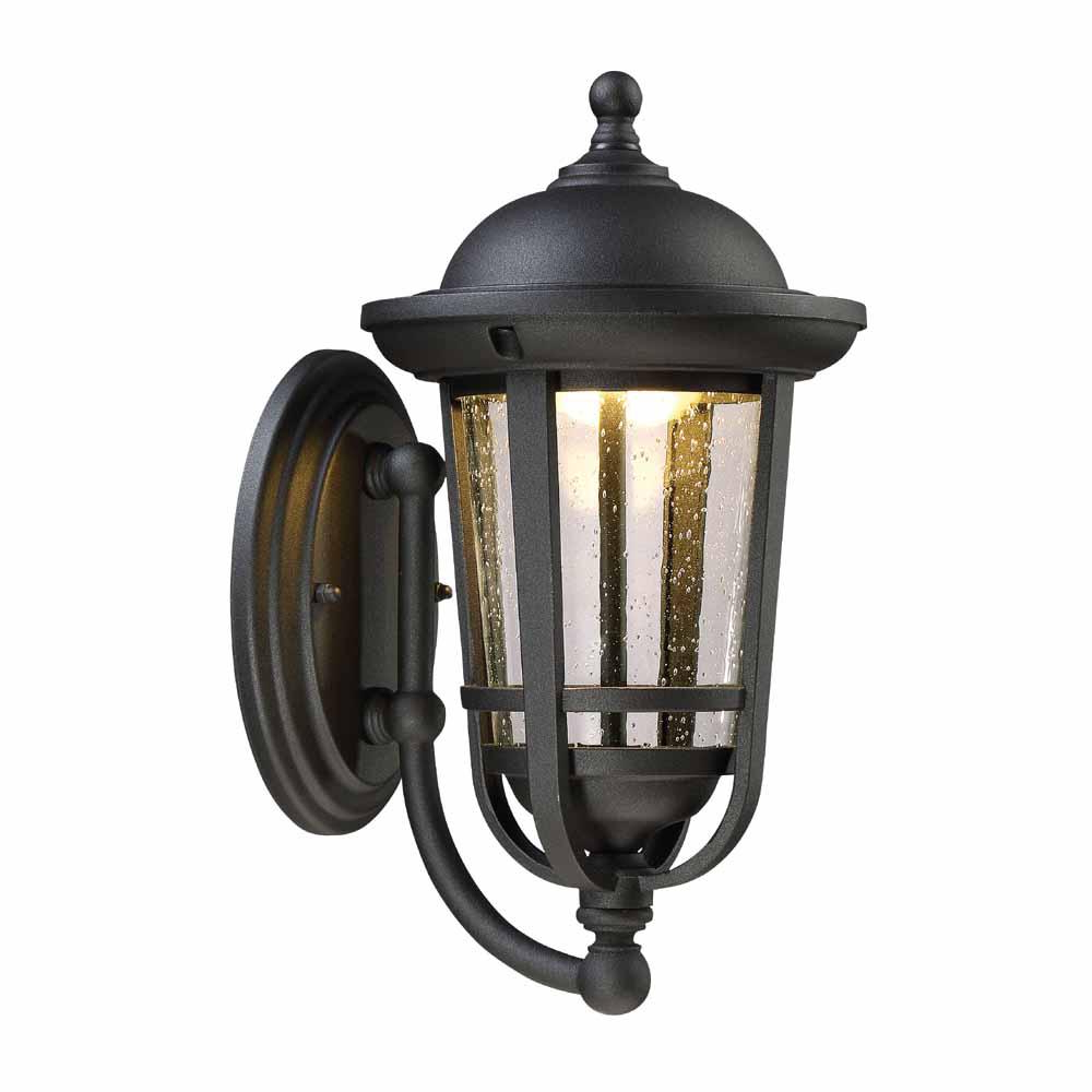 Chelston Seeded Glass Outdoor Wall Lanterns Intended For Most Popular Envirolite 17 In (View 8 of 20)