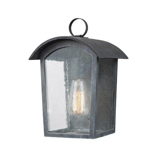 Chelston Seeded Glass Outdoor Wall Lanterns Pertaining To Trendy Seeded Glass Outdoor Wall Light Black Feiss Lighting At (View 17 of 20)