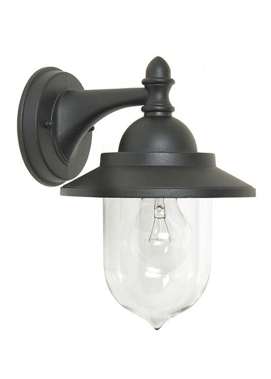 Ciotti Black Outdoor Wall Lanterns With Regard To Most Popular Sandown Outdoor Wall Lantern Black (View 5 of 20)