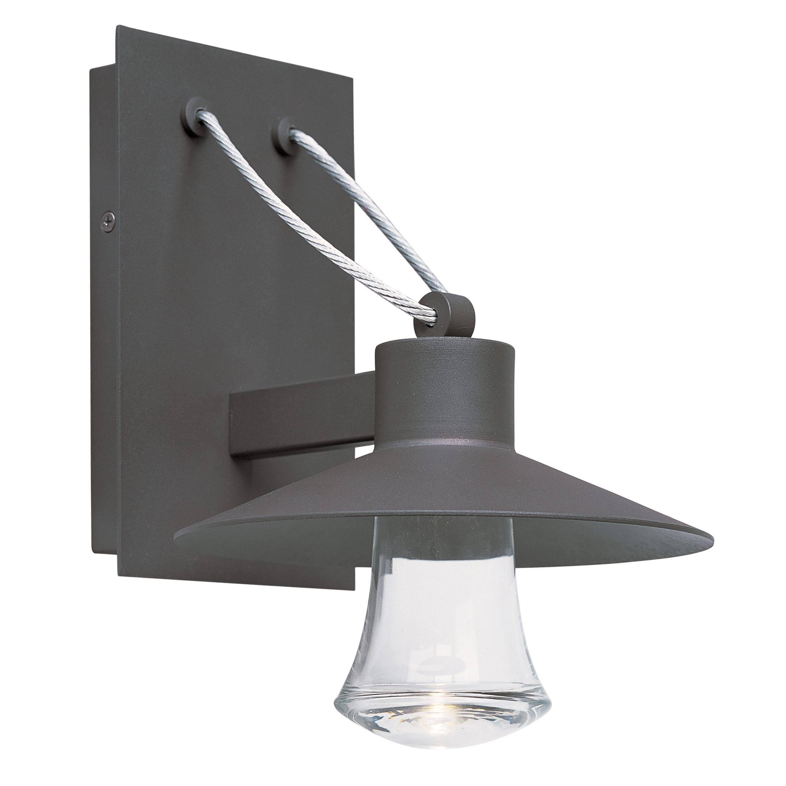 Civic Led 1 Light Small Outdoor Wall Lantern (View 15 of 20)