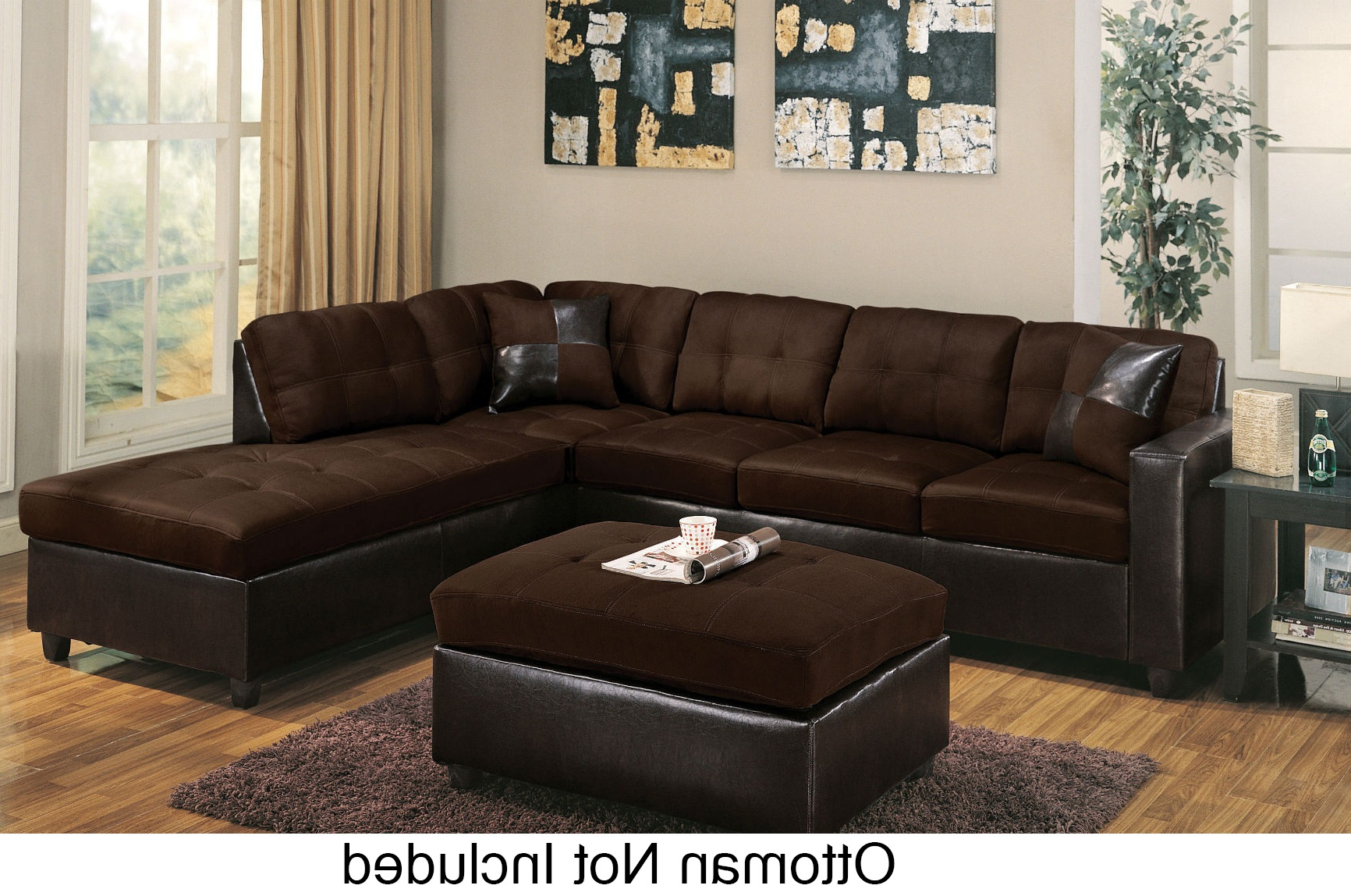 Clifton Reversible Sectional Sofas With Pillows In Most Popular Milano 51325 Reversible Sectional With Chaise 3 Seater (View 3 of 20)
