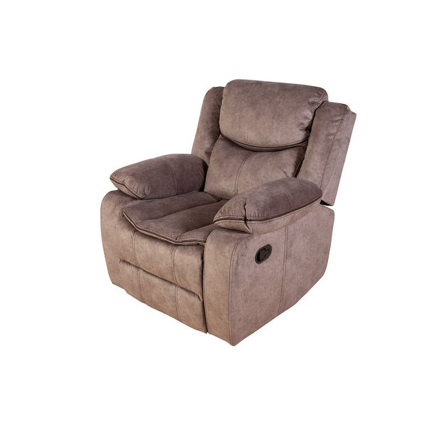 Colby Manual Reclining Sofas With Widely Used Porter Designs Logan Contemporary Microfiber Glider (View 7 of 20)
