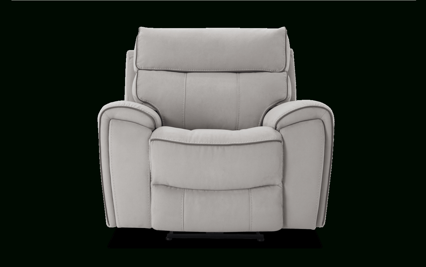 Contempo Power Reclining Sofas With Recent Contempo Gray Power Recliner In  (View 11 of 20)