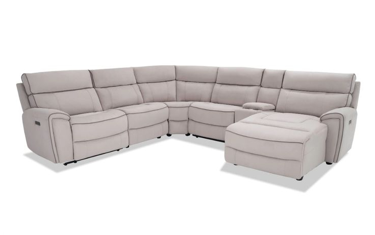 Contempo Power Reclining Sofas Within Popular Contempo 6 Piece Power Reclining Right Arm Facing (View 2 of 20)