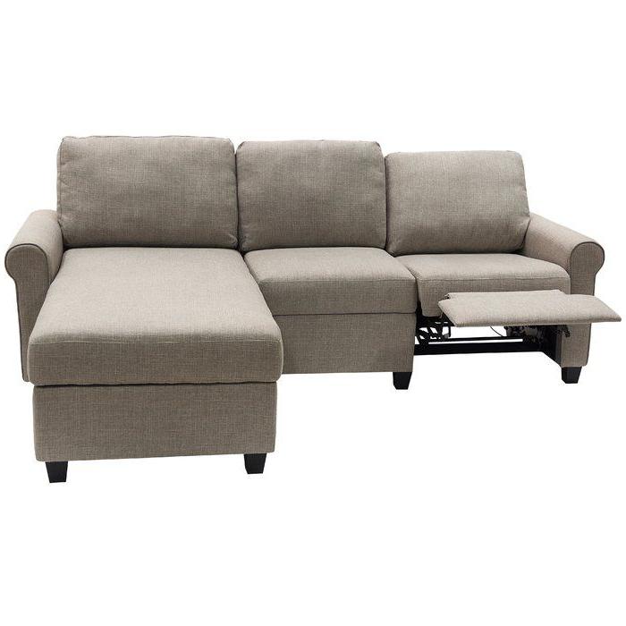 "Copenhagen 89"" Wide Reclining Sofa & Chaise (View 4 of 20)"