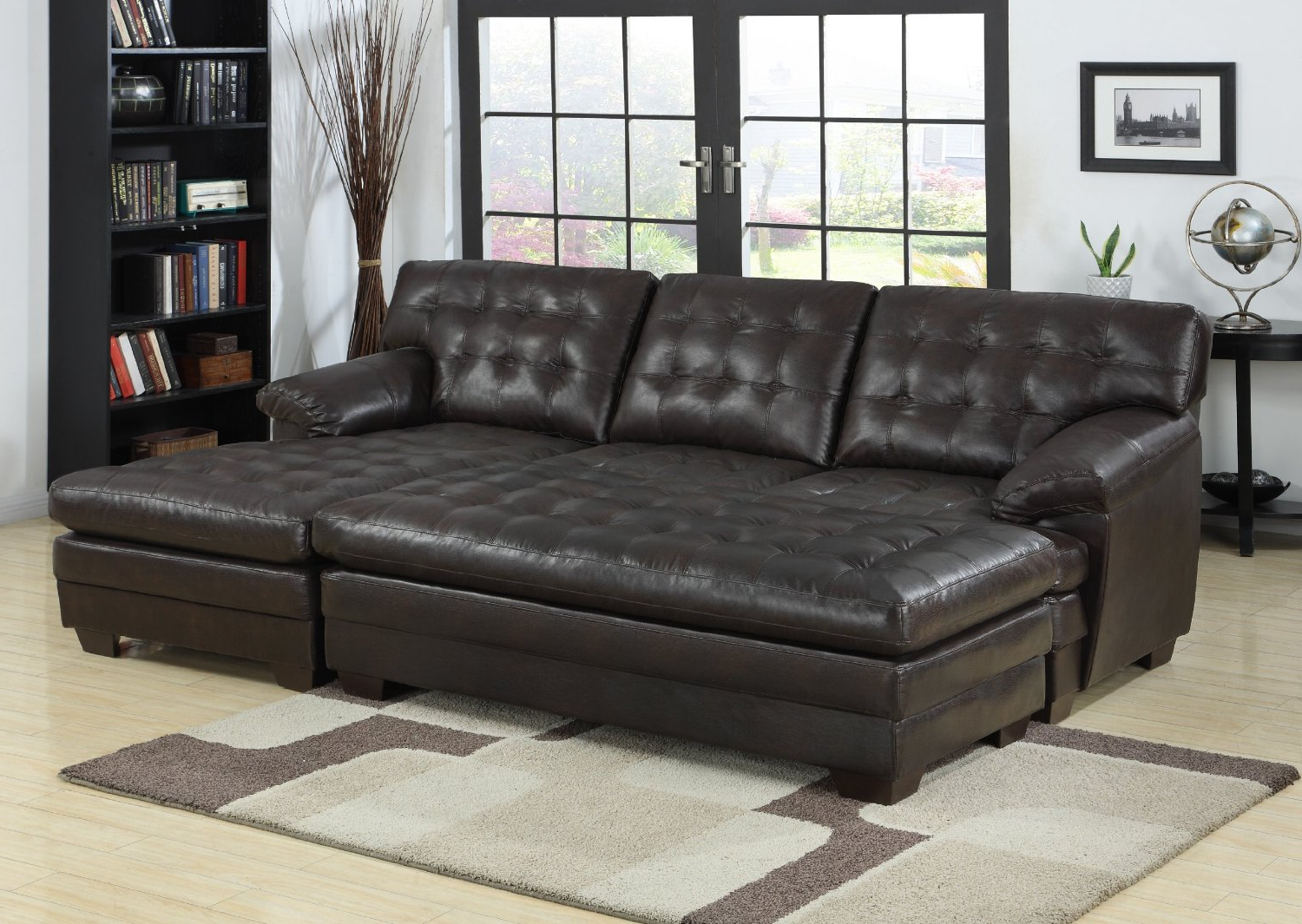 Copenhagen Reclining Sectional Sofas With Right Storage Chaise Within Well Liked 2 Piece Sectional Sofa With Chaise Design – Homesfeed (View 12 of 20)