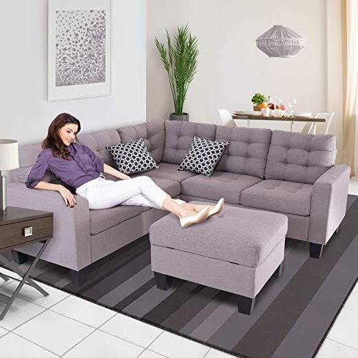 Copenhagen Reversible Small Space Sectional Sofas With Storage Intended For Well Liked Good & Gracious Sectional Sofa Set, L Shaped Couch With (View 9 of 20)