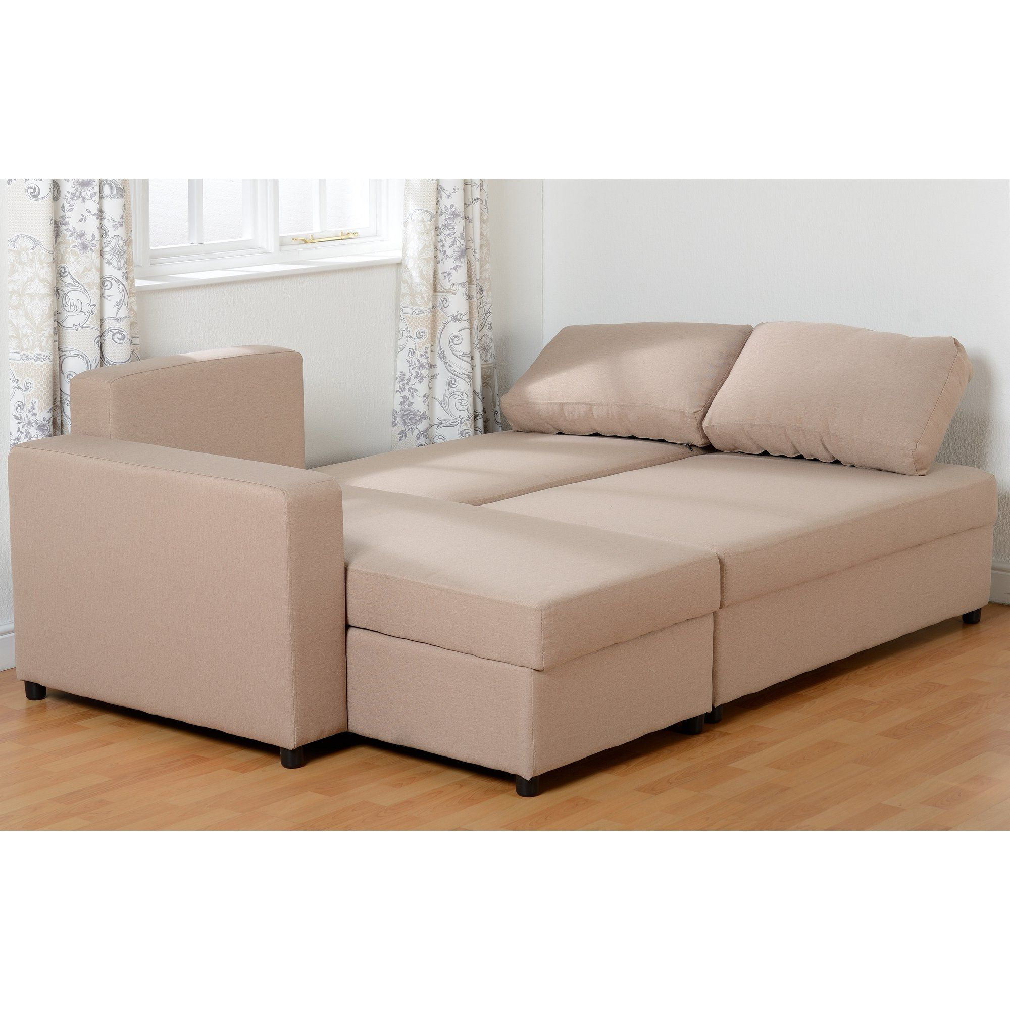 Corner Sofa Sleeper – Wood Chair Throughout Popular 2pc Maddox Left Arm Facing Sectional Sofas With Cuddler Brown (View 6 of 19)