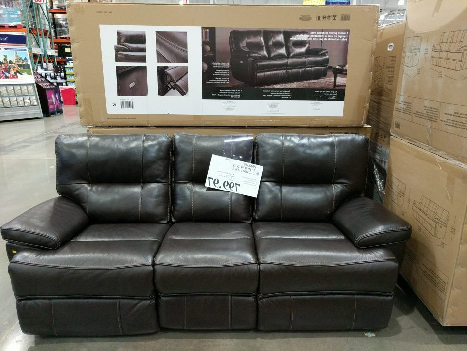 Costco97 Pertaining To Raven Power Reclining Sofas (View 11 of 20)