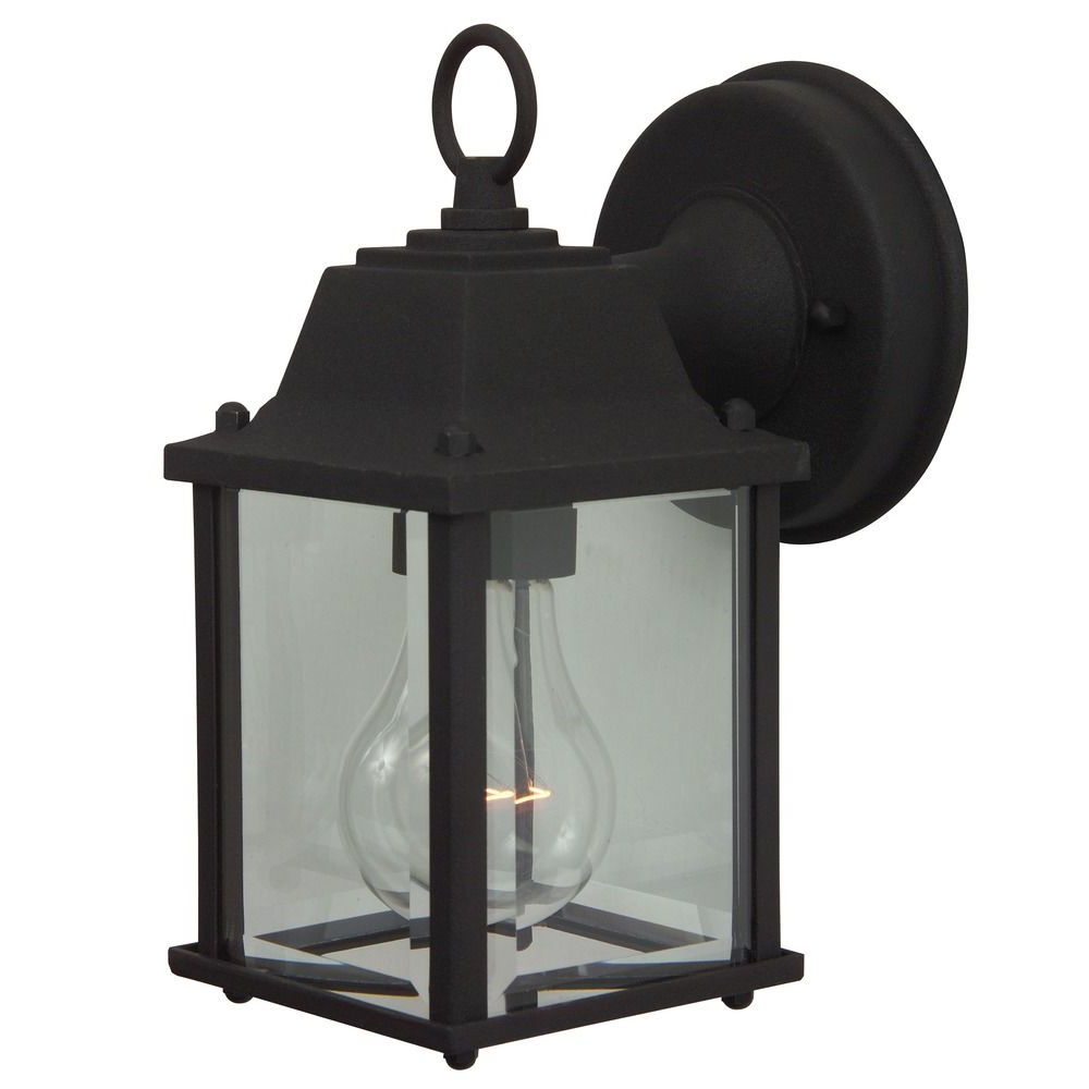 Craftmade Lighting Coach Lights Matte Black Outdoor Wall In Widely Used Keikilani Matte Black Wall Lighting (View 11 of 20)
