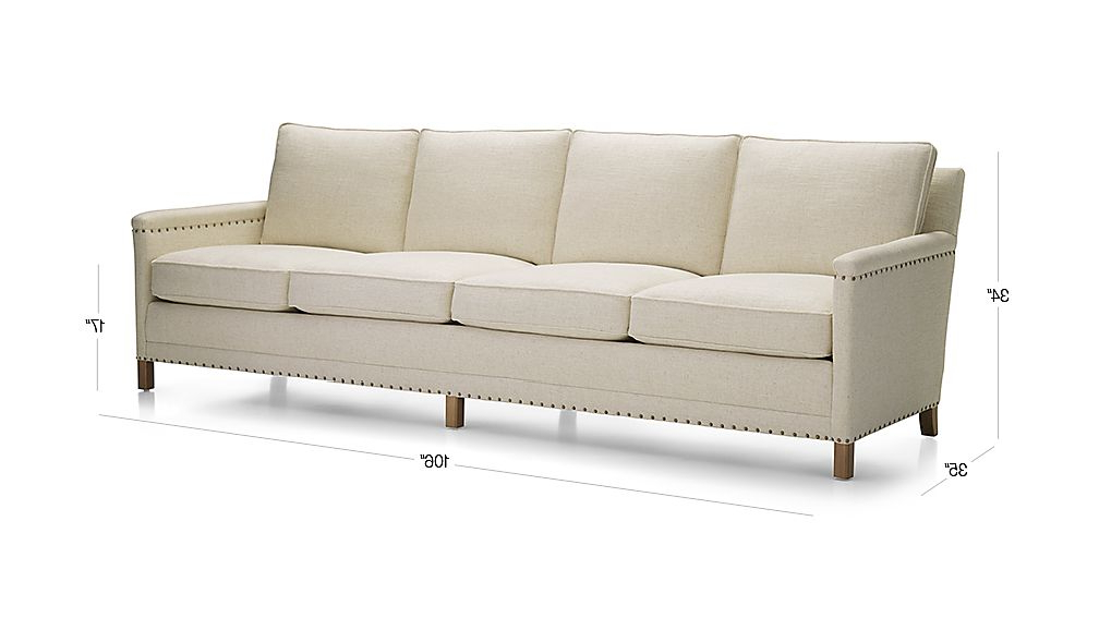Crate And Barrel Intended For Famous Trevor Sofas (View 5 of 20)
