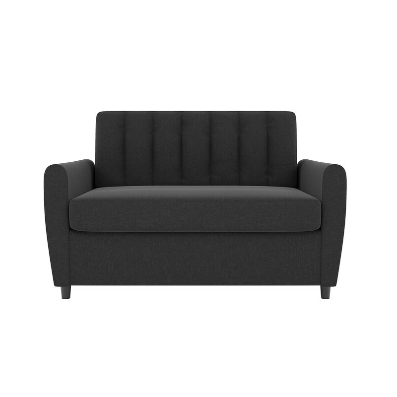 Current Brittany Sectional Futon Sofas Regarding Novogratz Brittany Sofa Bed & Reviews (View 17 of 20)