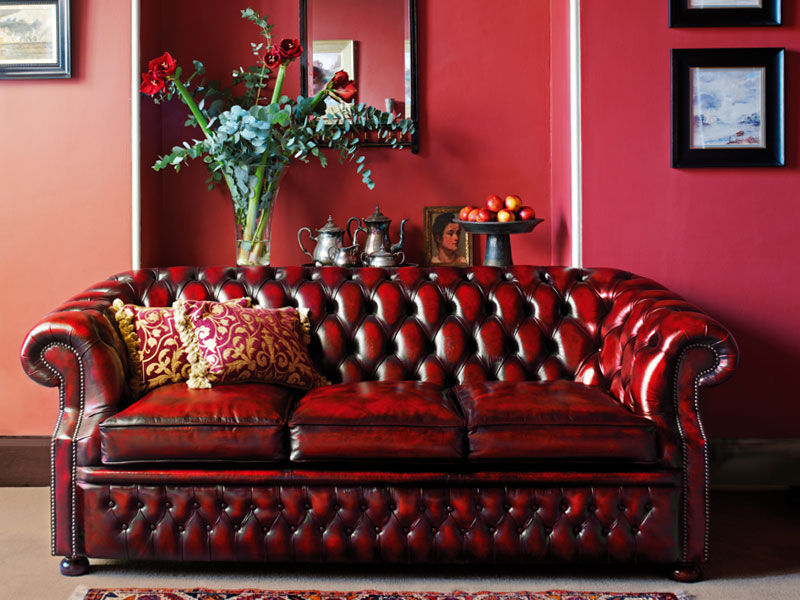 Current Chesterfield Sofa – Graham – Fleming & Howland – Leather Inside Cromwell Modular Sectional Sofas (View 11 of 20)