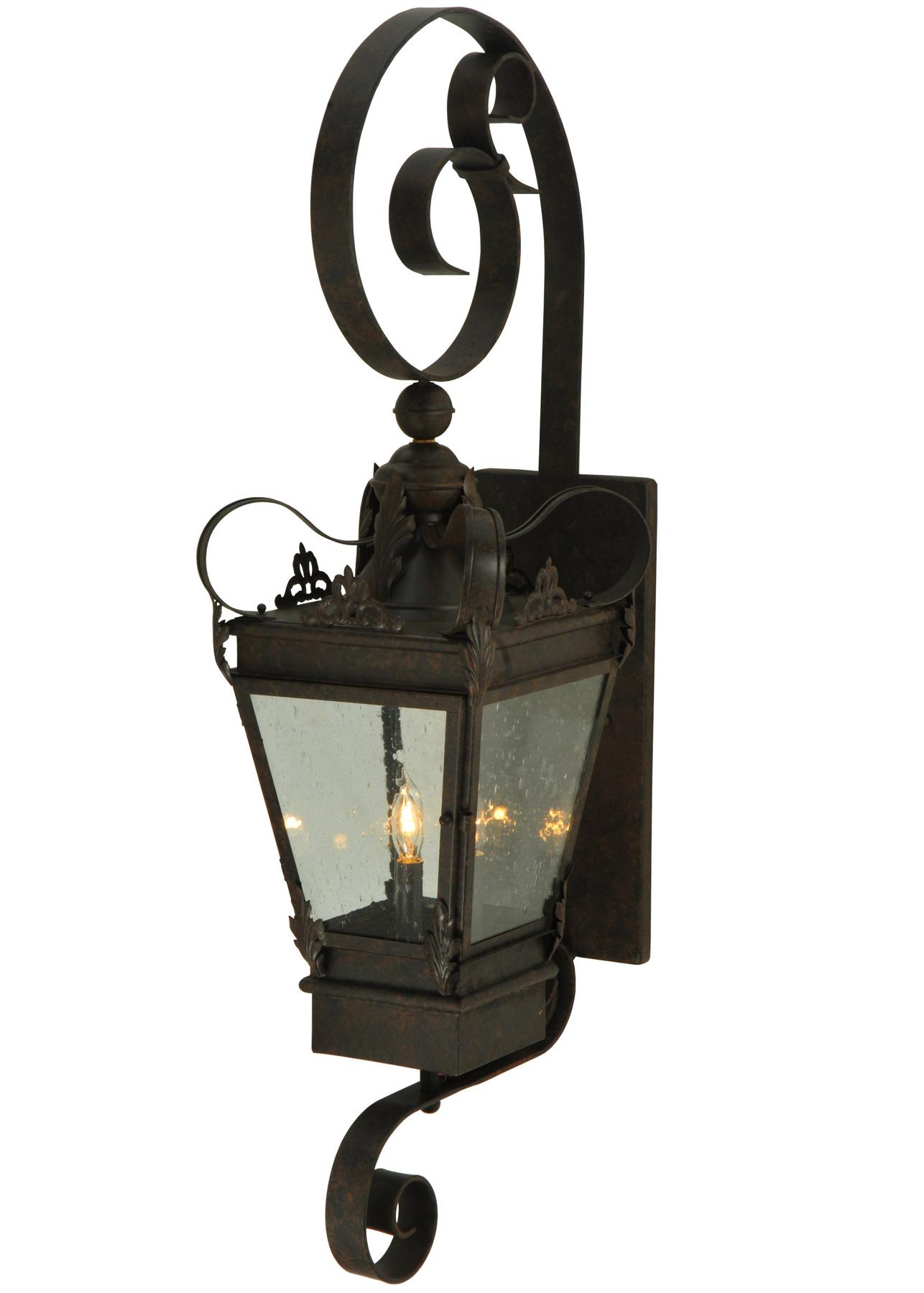 Current Gillett Outdoor Wall Lanterns Inside Meyda 129261 Verona Outdoor Wall Lantern (View 2 of 20)