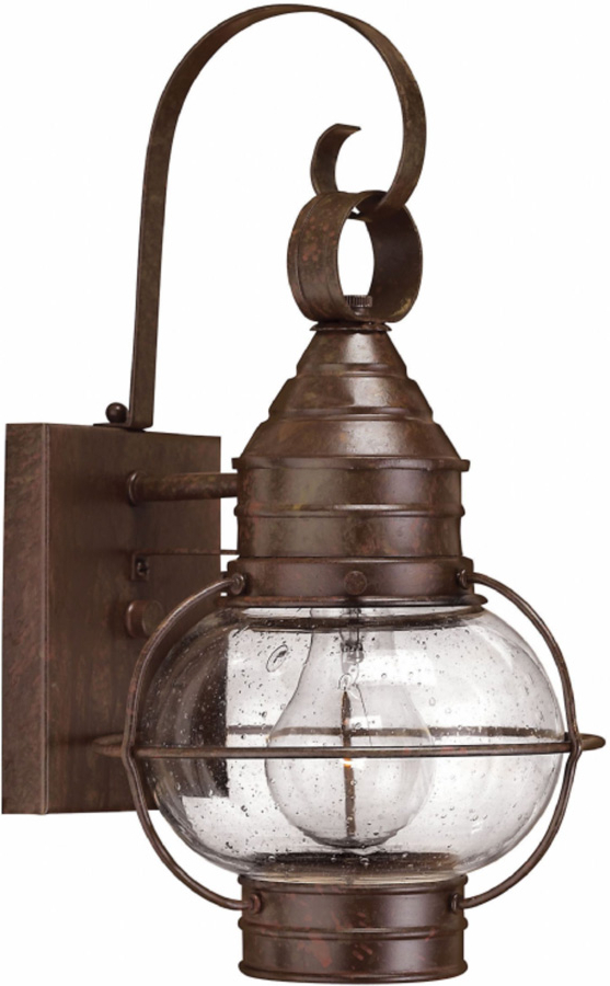 Current Hinkley Cape Cod Small Solid Brass Outdoor Wall Lantern Intended For Malak Outdoor Wall Lanterns (View 20 of 20)