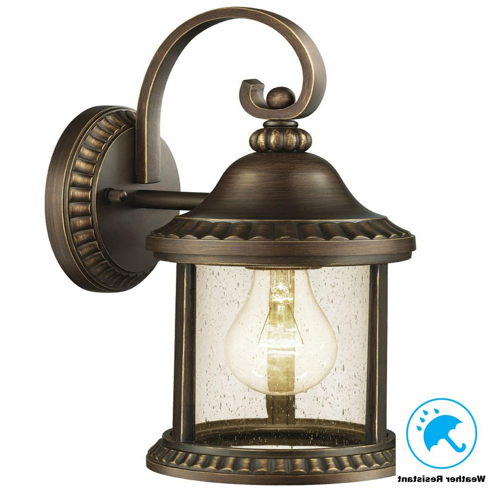 Current Home Decorators Collection Cambridge Outdoor Essex Bronze With Regard To Carner Outdoor Wall Lanterns (View 5 of 20)