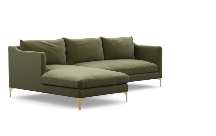 Custom Throughout Most Recent Harmon Roll Arm Sectional Sofas (View 5 of 20)