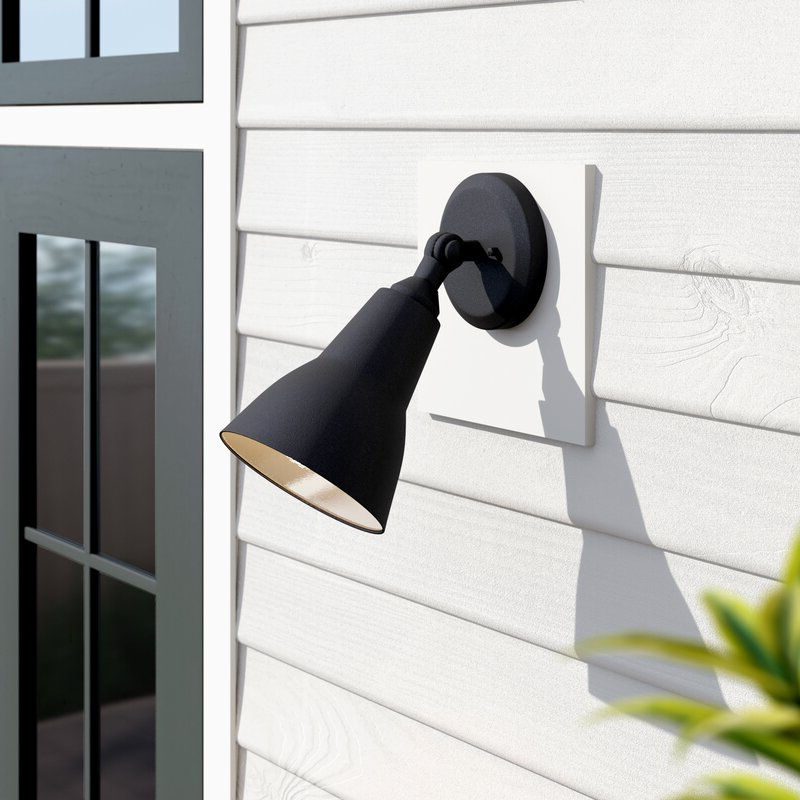Dedmon Outdoor Armed Sconces Within Best And Newest Zipcode Design™ Quitman Glass Outdoor Armed Sconce (View 5 of 20)