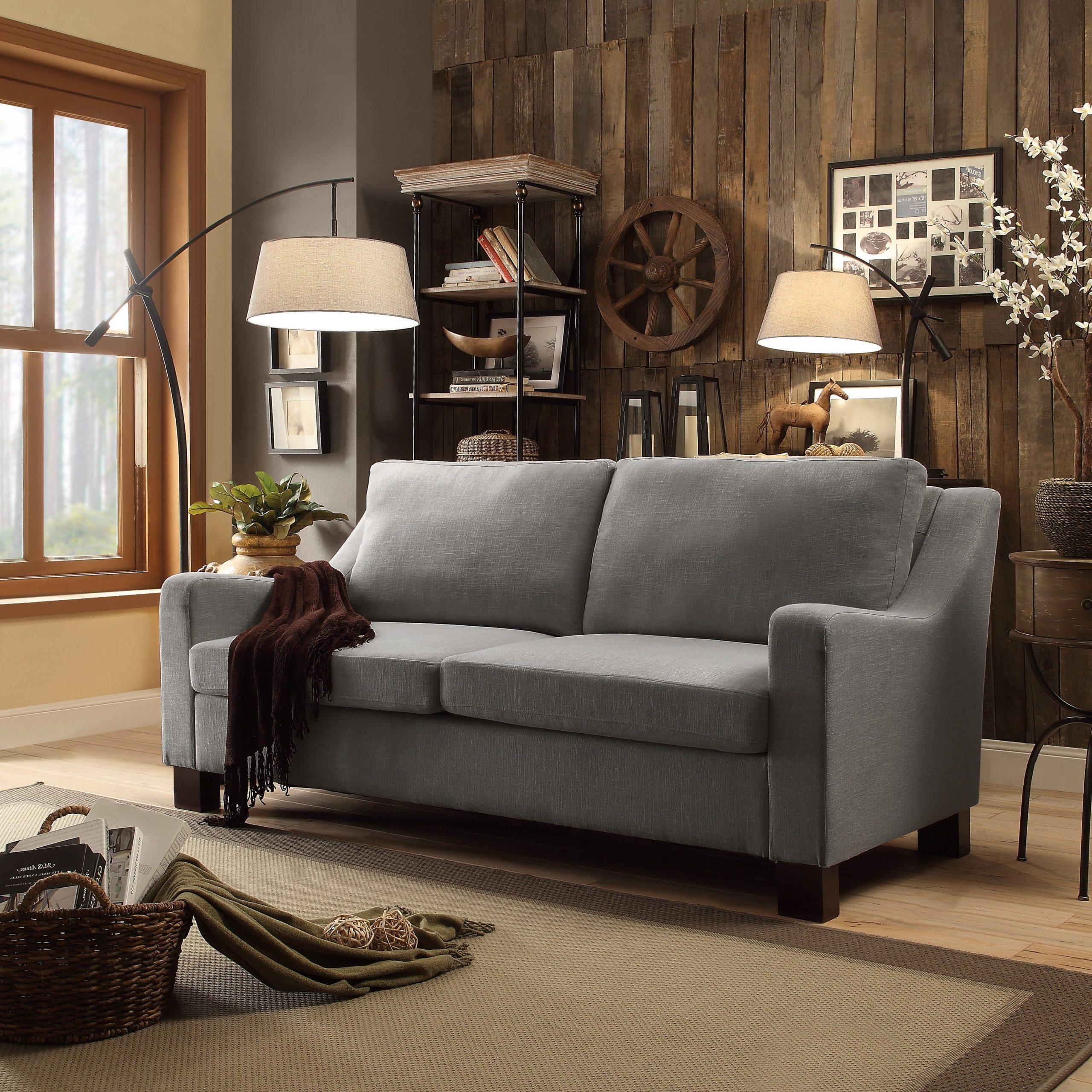 Dg Casa Madison Grey Sofa (sofa), Gray (View 6 of 20)