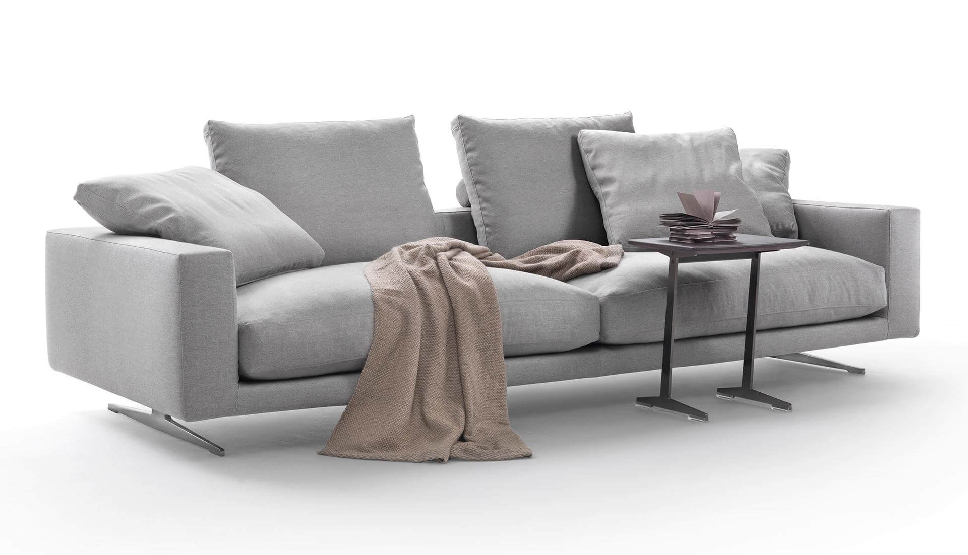 Dream Navy 3 Piece Modular Sofas For Preferred Flexform Campiello Modular Sofa – Dream Design Interiors Ltd (View 5 of 20)