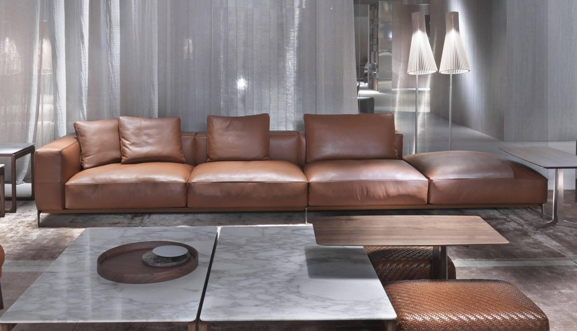 Dream Navy 3 Piece Modular Sofas Within Well Known Flexform Ettore Modular Sofa – Dream Design Interiors Ltd (View 20 of 20)