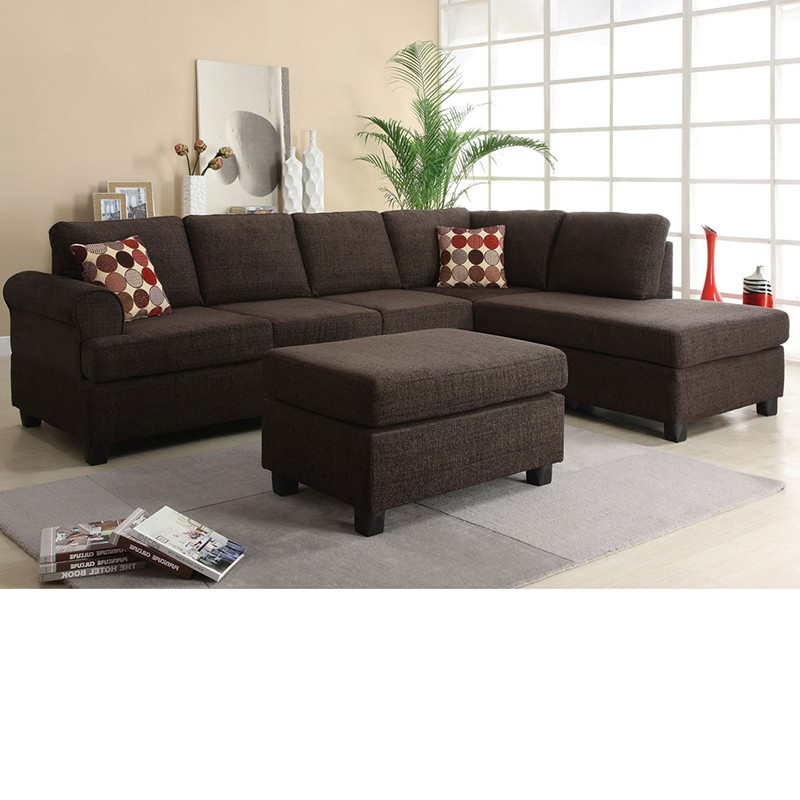 Dreamfurniture – 50540 Donovan Butler Onyx Morgan Within Well Known Copenhagen Reversible Small Space Sectional Sofas With Storage (View 7 of 20)