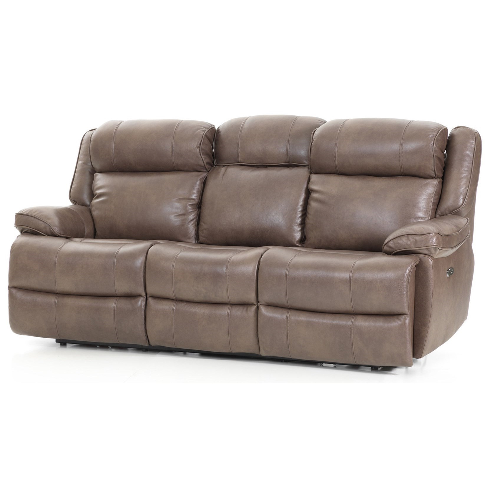 Dual Power Reclining Sofas For Most Up To Date Avalon Casual Dual Power Reclining Sofa With Power (View 18 of 20)