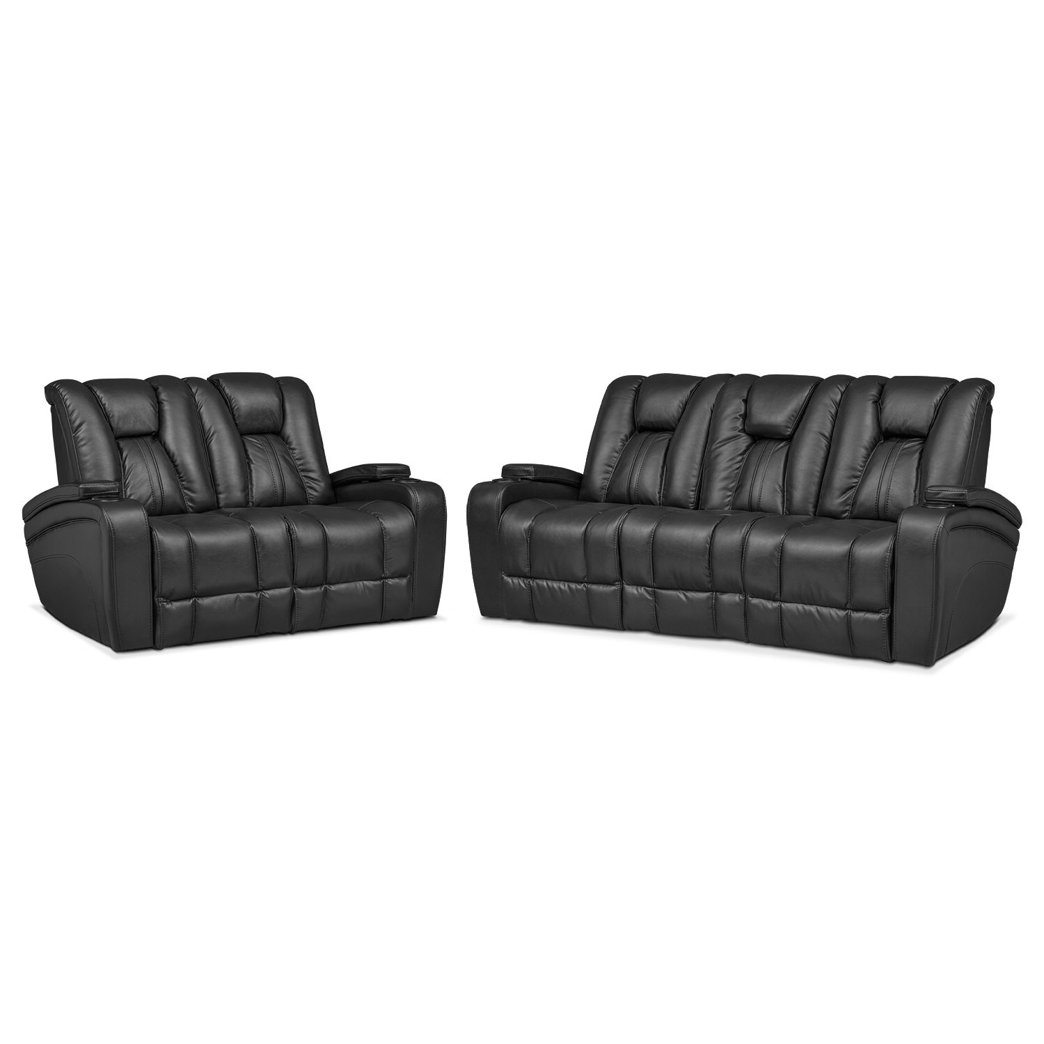 Dual Power Reclining Sofas In Most Recently Released Pulsar Dual Power Reclining Sofa And Dual Power Reclining (View 17 of 20)