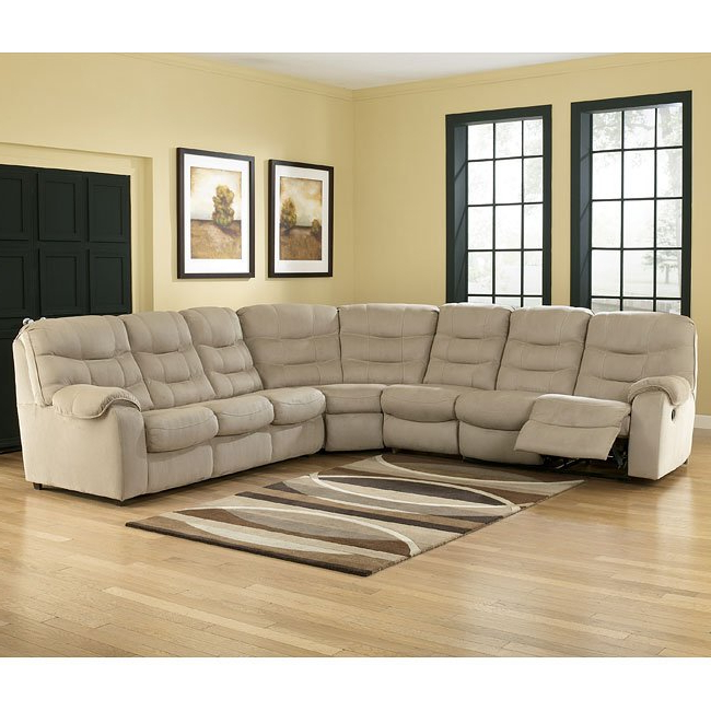 Dulce Right Sectional Sofas Twill Stone In Most Popular Renegade – Stone Large Sectional W/ Right Facing Sleeper (View 20 of 20)
