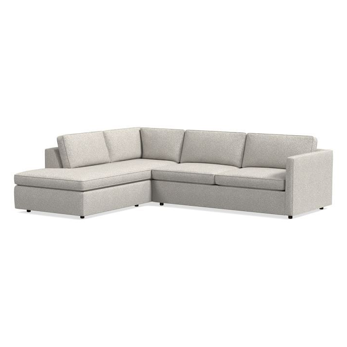 """Dulce Right Sectional Sofas Twill Stone With Regard To Well Known Harris Sectional Set 11: Left Arm 75"""" Sofa, Right Arm (View 2 of 20)"""