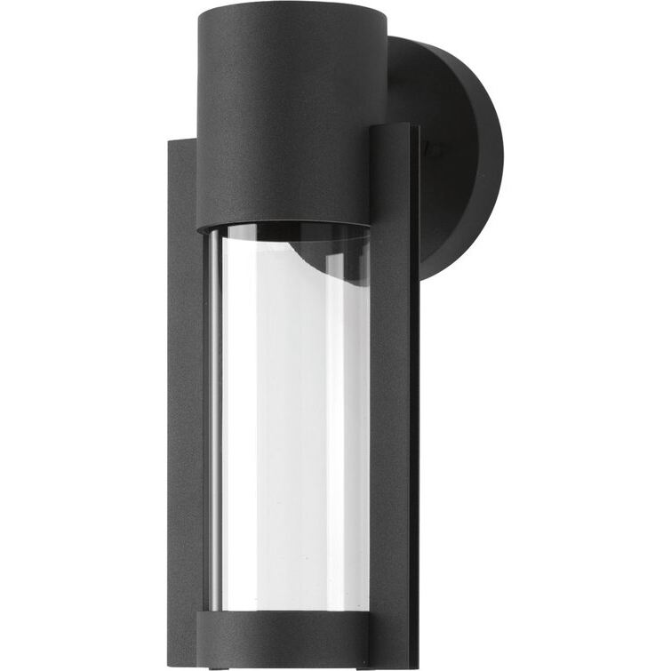 """Eddy 12"""" H Integrated Led Outdoor Armed Sconce & Reviews Regarding Popular Chazz Integrated Led Outdoor Armed Sconces (View 16 of 20)"""