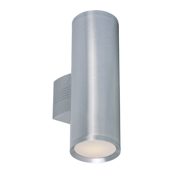 Edith 2 Bulb Outdoor Armed Sconces Intended For Most Popular Orren Ellis Leilla 2 – Bulb Glass Outdoor Armed Sconce (View 9 of 20)