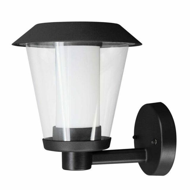Eglo Blyth Integrated Led Outdoor Wall Light Black (View 20 of 20)