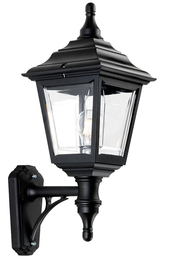 Elstead Kerry Corrosion Proof 1 Light Outdoor Wall Lantern In Well Liked Ciotti Black Outdoor Wall Lanterns (View 10 of 20)