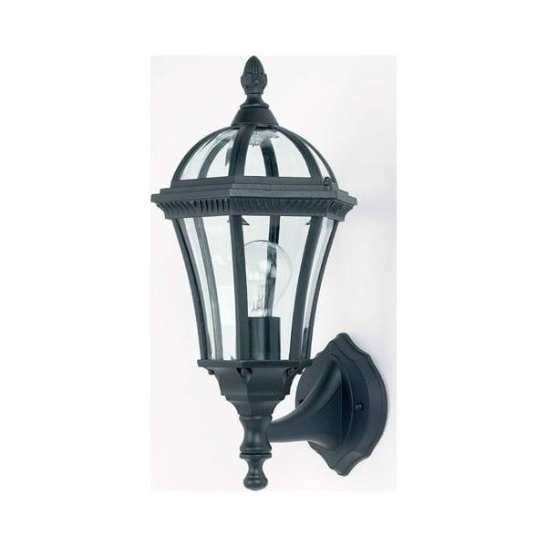 Endon Lighting Yg 3500 Drayton Single Light Outdoor Upward Regarding Famous Bensley Matt Black Wall Lanterns (View 5 of 20)
