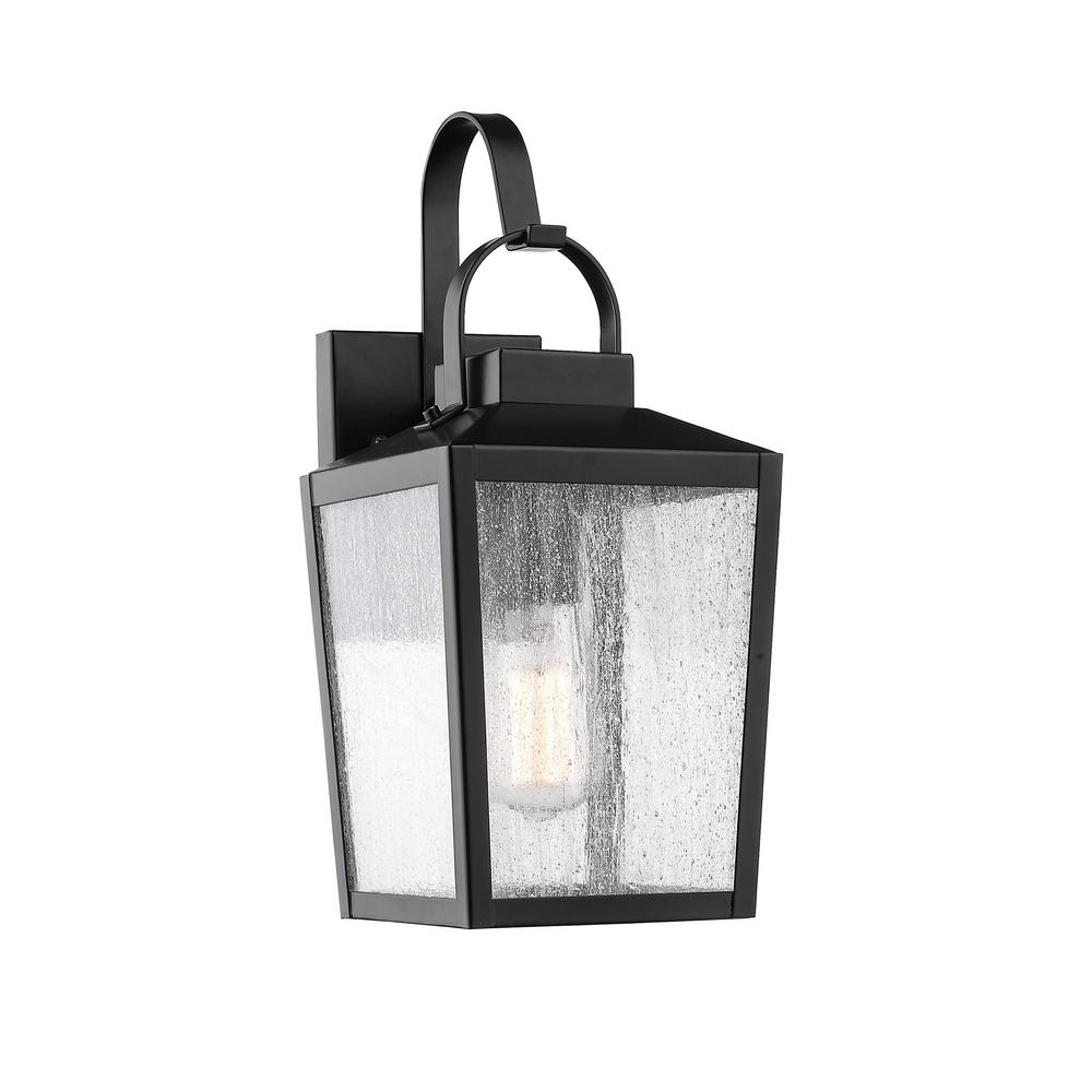 Esquina Powder Coated Black Outdoor Wall Lanterns Intended For Widely Used Millennium Lighting 1 Light 6.5 In (View 11 of 20)