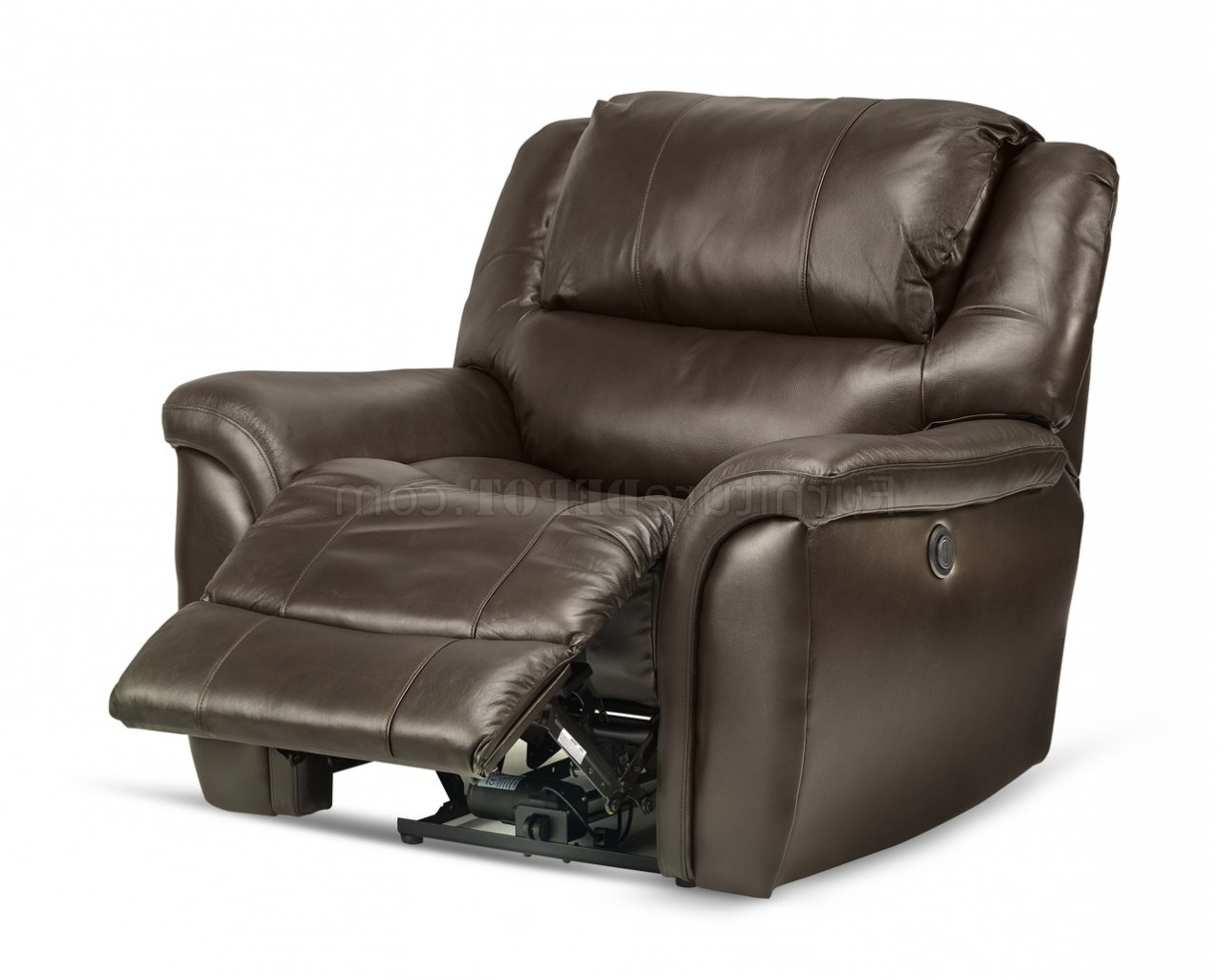 Expedition Brown Power Reclining Sofas Throughout Well Liked Dawson Power Reclining Sofa Set In Brown Leather Match (View 15 of 20)