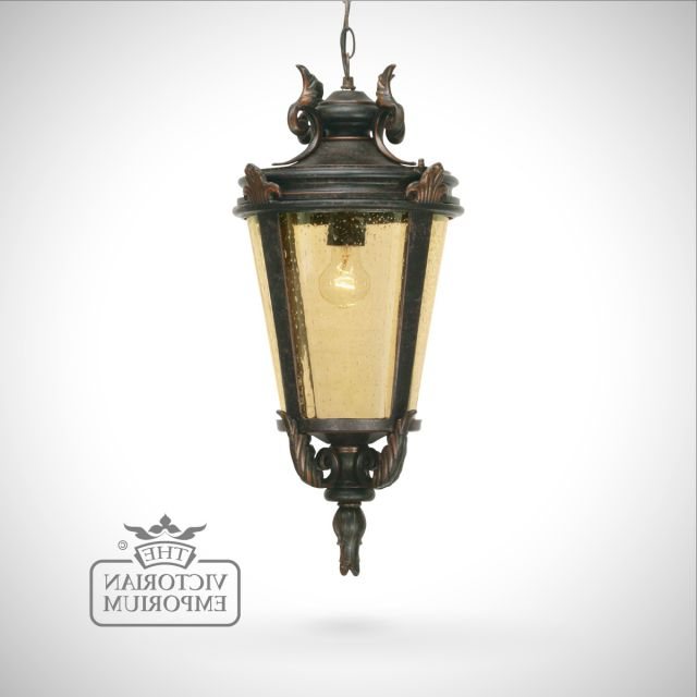 Exterior Ceiling Lights Within Cowhill Dark Bronze Wall Lanterns (View 18 of 20)