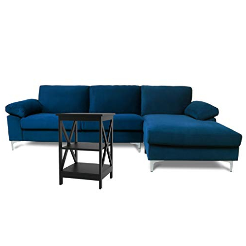 Famous Artisan Blue Sofas Inside Sectional Sofas For Living Room Blue Couch Comfortable (View 2 of 20)