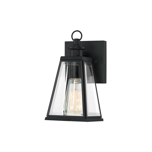 Famous Binegar Matte Black Outdoor Wall Lanterns Within Quoizel Pax8305mbk Paxton 1 Light 9 Inch Matte Black (View 15 of 20)