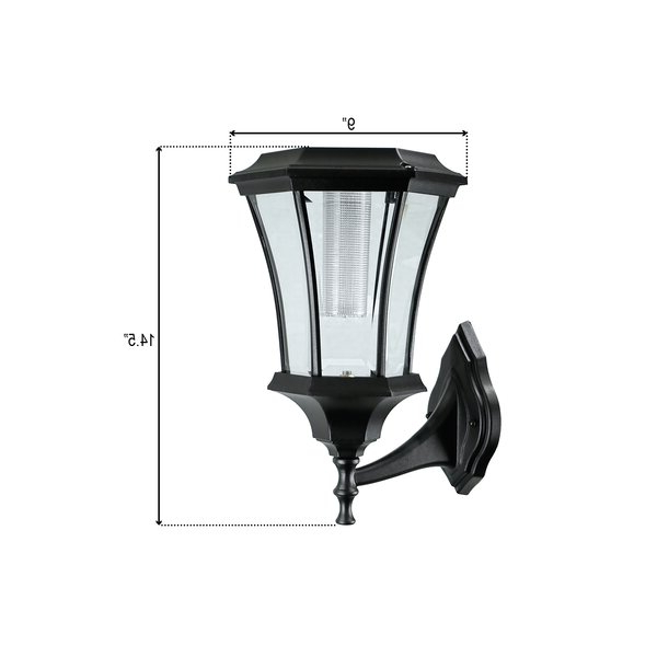 Famous Charlton Home® Ackerly Led Outdoor Wall Lantern (View 7 of 20)